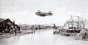 Stunt in James Bond movie
