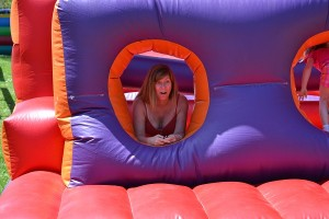 Sonia in Jumpy Castle