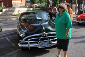 Jodee with Hudson Hornet